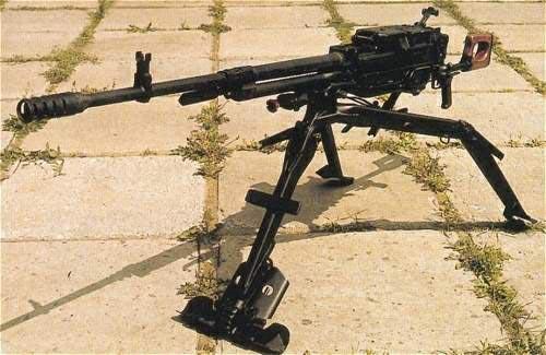 также пулемет ставиться на
