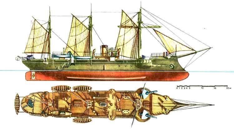 канонерские лодки россии