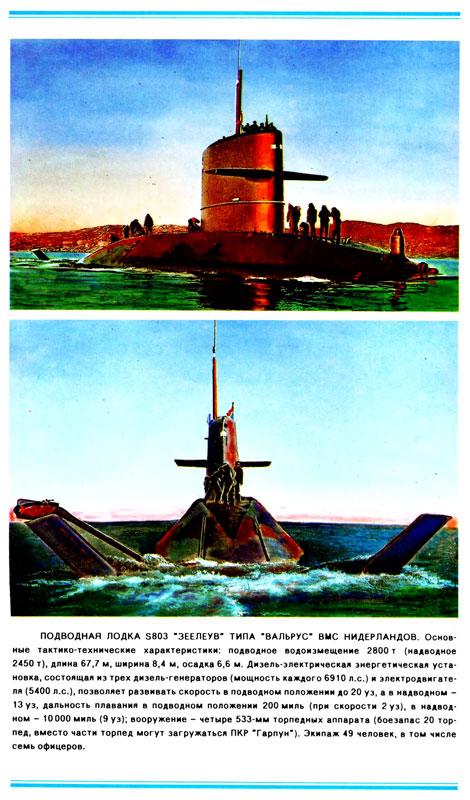 осадка подводной лодки