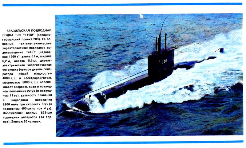 скорость современной подводной лодки